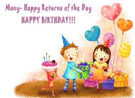 amazing birthday wishes for kids birthday wishes zone