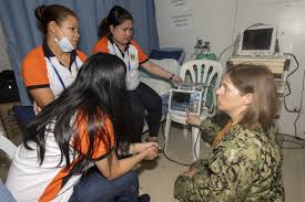 DVIDS - Images - Cmdr. Abigail White Demonstrates Defibrillator to  Philippine Healthcare Professionals during Pacific Partnership 2019 [Image  8 of 12]