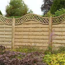 Forest Prague Fence Panel 5ft Pack Of 3 Decorative Fence Panels Wooden Fence Panels Fence Panels