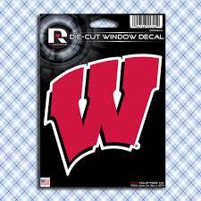 Wisconsin Badgers Car Window Decals Stickers