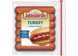 smoked turkey sausage links