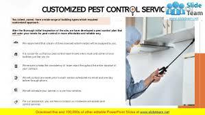 Pest Control Services Proposal PowerPoint Presentation Slides