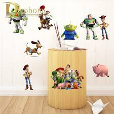 Wall Decals Toy Story Woody Buzz Lightyear Diy Wall Sticker Kids Room Bedroom Decoration Vinyl Art Mural Poster Kids Bedroom Bajby Com Is The Leading Kids Clothes Toddlers Clothes And