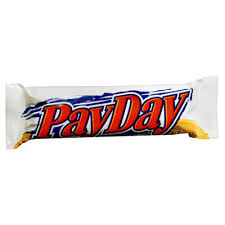 hershey s payday candy bars