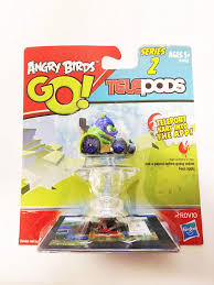 Amazon.com: Angry Birds Go! Telepods Kart Series 2 - Pig with ...