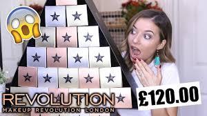 makeup revolution advent calendar 2017