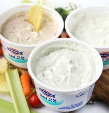 easy greek yogurt dips 3 ways