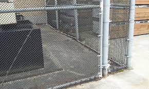 Small Weave Black Wire On Galvanized Chain Link Fence City Wide Fence 206 763 8282 Fence Chainlink Chainlinkfence Fen Chain Link Fence Fence Wire Fence