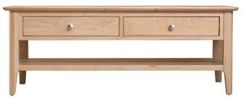 scandia light oak large coffee table