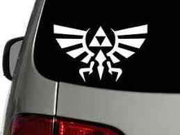 Legend Of Zelda Triforce Vinyl Decal Car Wall Sticker Choose Size Color Ebay