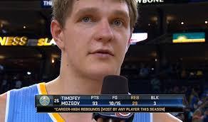 The Mozgov Game: 93 Points(?!) & 29 rebounds vs the Warriors -  Ballislife.com
