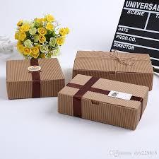 corrugated kraft paper box jewel gift