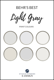behr light gray paint colours