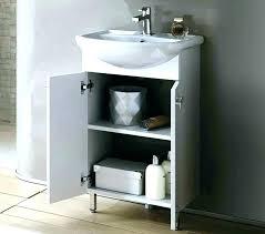 pedestal sink vanity cabinet bathroom