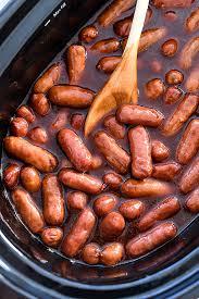 slow cooker little smokies recipe