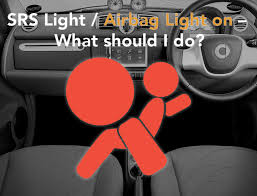srs light airbag light is on what