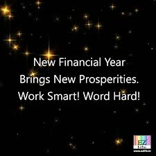 the new financial year brings new possibilities build new