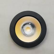 Đèn LED Ốp Nổi mini siêu mỏng 5W, Đèn Trang Trí Tủ Rượu, Tủ Bếp, Tủ Quần Áo  (vỏ đen- ánh sáng trắng)