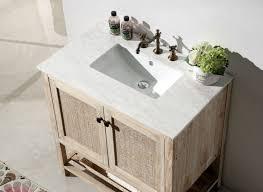 abel 36 inch rustic white wash bathroom