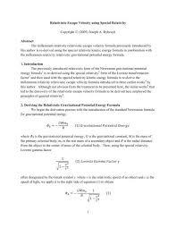 pdf version millennium relativity