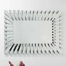 starburst frameless mirror