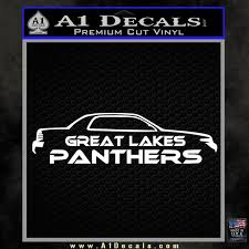 Great Lakes Panthers Decal Sticker A1 Decals