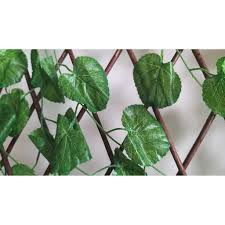 Geranium Folding Expandable Artificial Leaves Fence Shopee Philippines