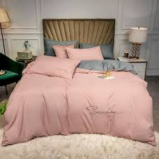 cool tencel embroidery bedding set cool