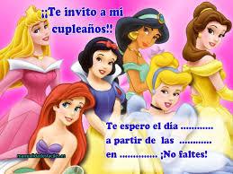 Tarjetas De Cumpleanos De Princesas Disney Manualidades Faciles