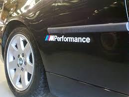 Bmw M Performance Stickers Vinyl Adhes Buy Online In Aruba At Desertcart