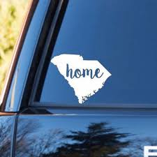 South Carolina Home Decal South Carolina Decal Homestate Decals Love Sticker Love Decal Car D Personalized Vinyl Decal Love Stickers Bumper Stickers