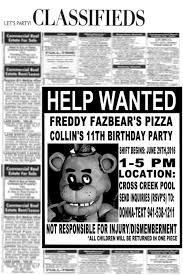 Five Nights At Freddy S Fnaf Inspired Invitations Con Imagenes
