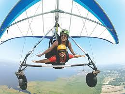 tandem hang gliding kitty hawk kites