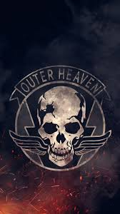 outer heaven iphone6 wallpaper
