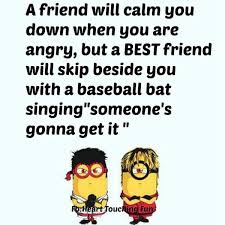 funny minion friendship quote pictures photos and images for