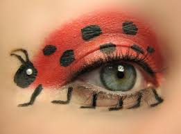 how to paint ladybug face makeup