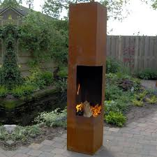 freestanding outdoor wood burning