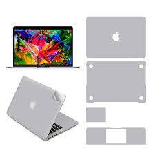 Full Body Skin For Macbook Pro 15 Inch 2016 2019 Model A1707 A1990 Full Cover Protective Vinyl Decal Stickers Aliexpress