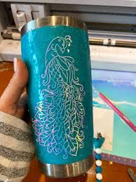 How To Make Glitter Tumblers With Epoxy For Beginners Silhouette School
