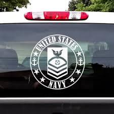 Us Navy Chief Petty Officer Rank E 7 Cpo Decal Window Sticker Car Truck Etc Ebay