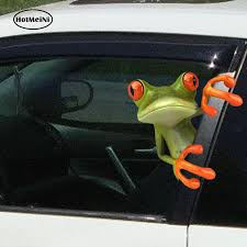 Best Sale 1153 Hotmeini 3d Frogs Funny Car Stickers Car Styling Vinyl Decal Sticker Truck Window Graphics Sticke High Temperature Waterproof Cicig Co