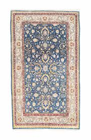 an extremely fine silk hereke rug