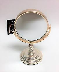 mb pale rose gold crystals small vanity