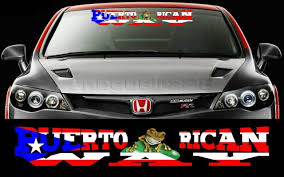 Car Truck Graphics Decals Auto Parts And Vehicles 1x Puerto Rico Flag Decal Puerto Rican Flag Car Decal Coqui Sticker Pr 4712 Hairli Hr
