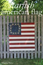 Starfish American Flag Migonis Home