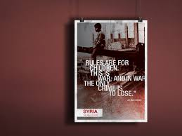 Poster Design - syria: the will of life by Somar Kawkabi on Dribbble