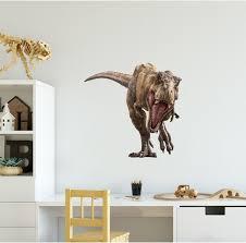 T Rex 1 Dinosaur Wall Decal Sticker Jurassic World Dino Etsy
