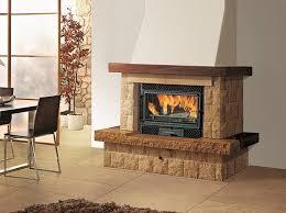 cast iron fireplace insert firebox deco