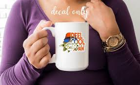 Reel Cool Papaw Decal Vinyl Decal Tumble Decal Car Decal Etsy