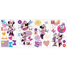 Room Mates Studio Designs Minnie Bow Tique Wall Decal Reviews Wayfair